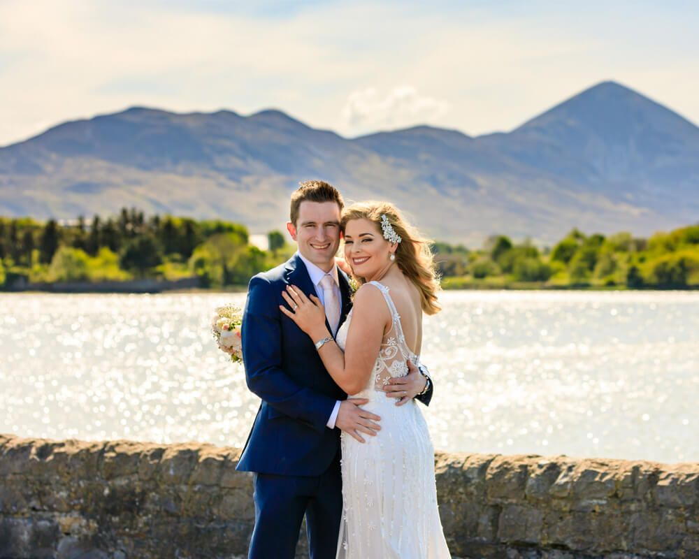 Couple in front of Croagh Patrick