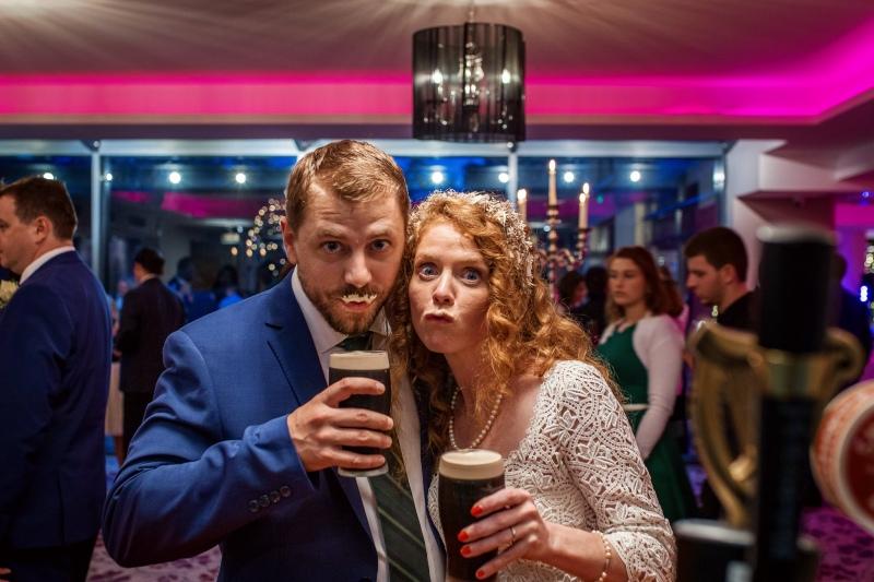 Guinness Moustache!