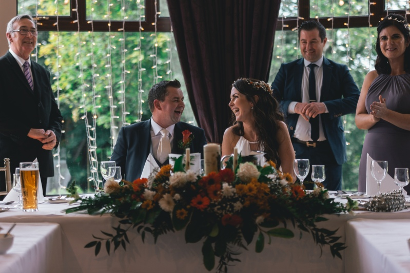 Maria and Gerard Top Table