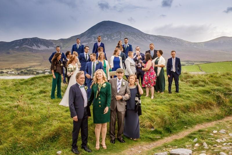 Family at Croagh Patrick