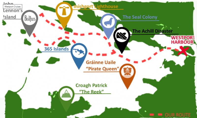 westport cruises map